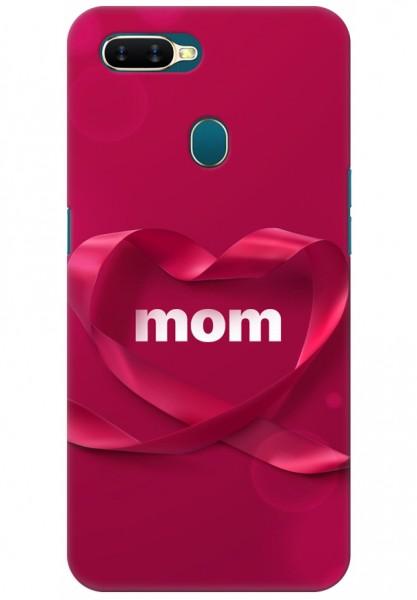 huge selection of f17f6 af299 Oppo A7 Back Cover Case - Mom Design