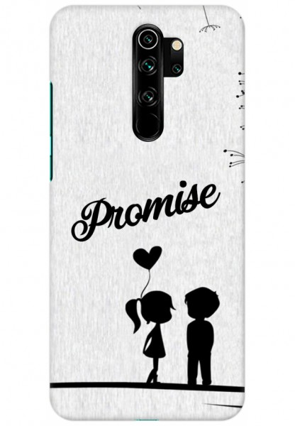 Mi Redmi Note 8 Pro Back Cover Promise Girl Boy
