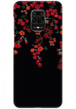 Redmi Note 9 Pro Back Cover Case - Floral Climbers Design